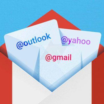 Centralizar varias cuentas de correo en una de GMail